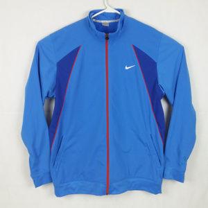Nike Track Jacket 2XL Tall Men's Blue Full Zip